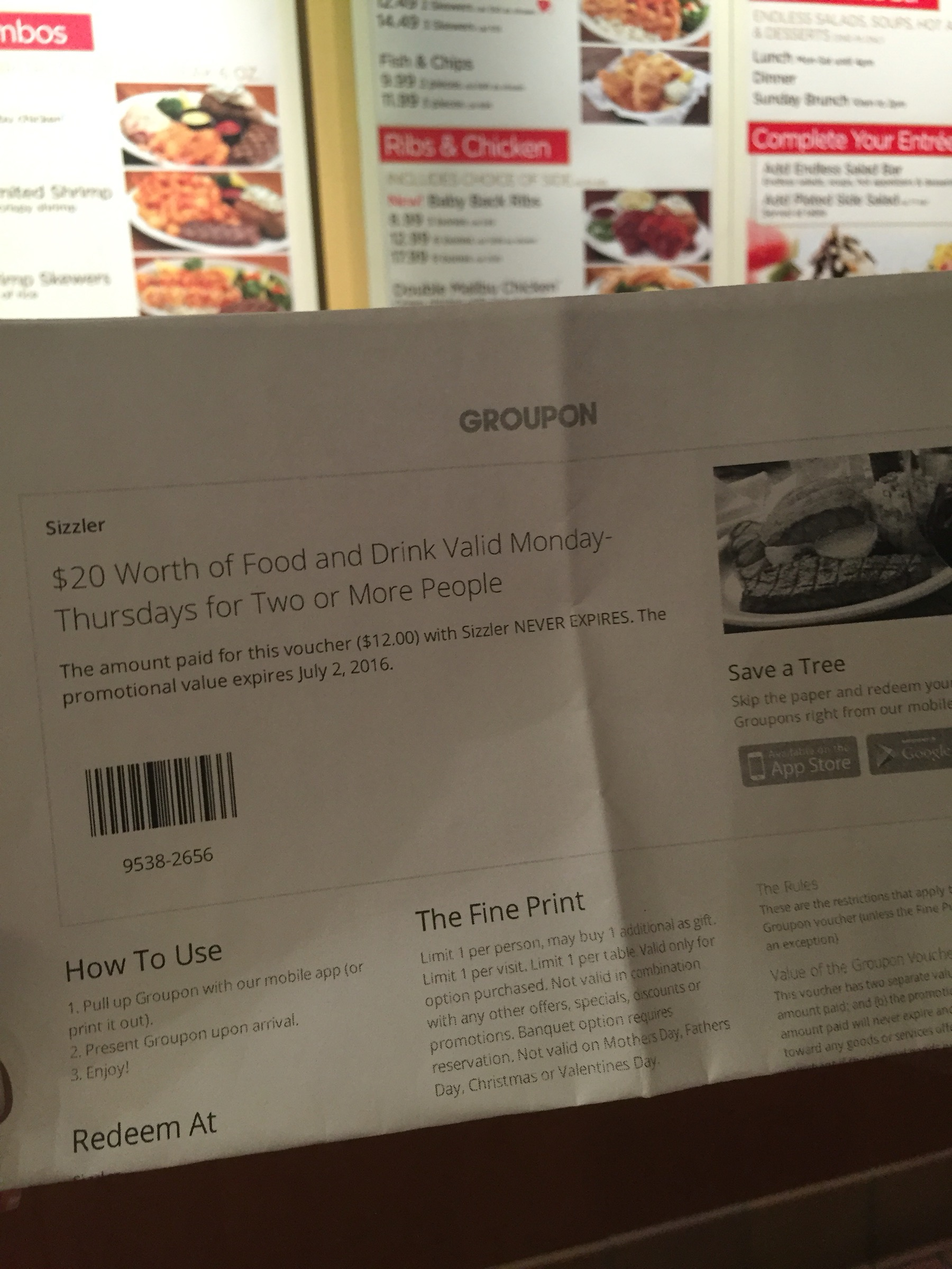 La Mirada: Sizzler… And Groupon – You can Call Me Mochelle