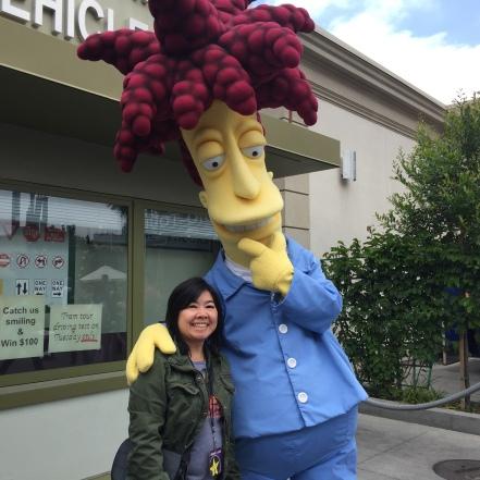 Me and Sideshow Bob