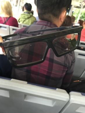 3D glasses needed for part of the tour