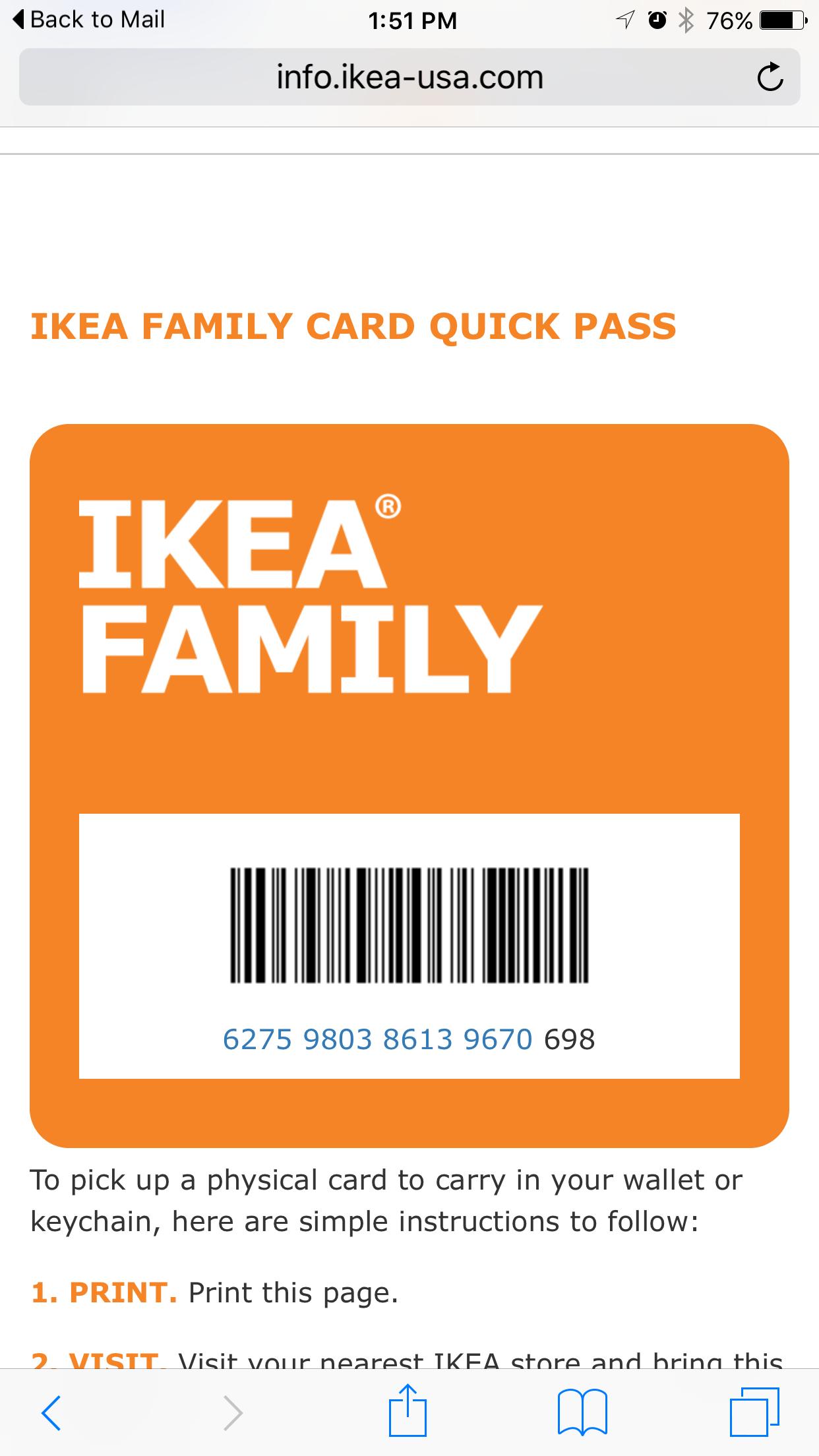 Schön Ikea Family Card Login Schema