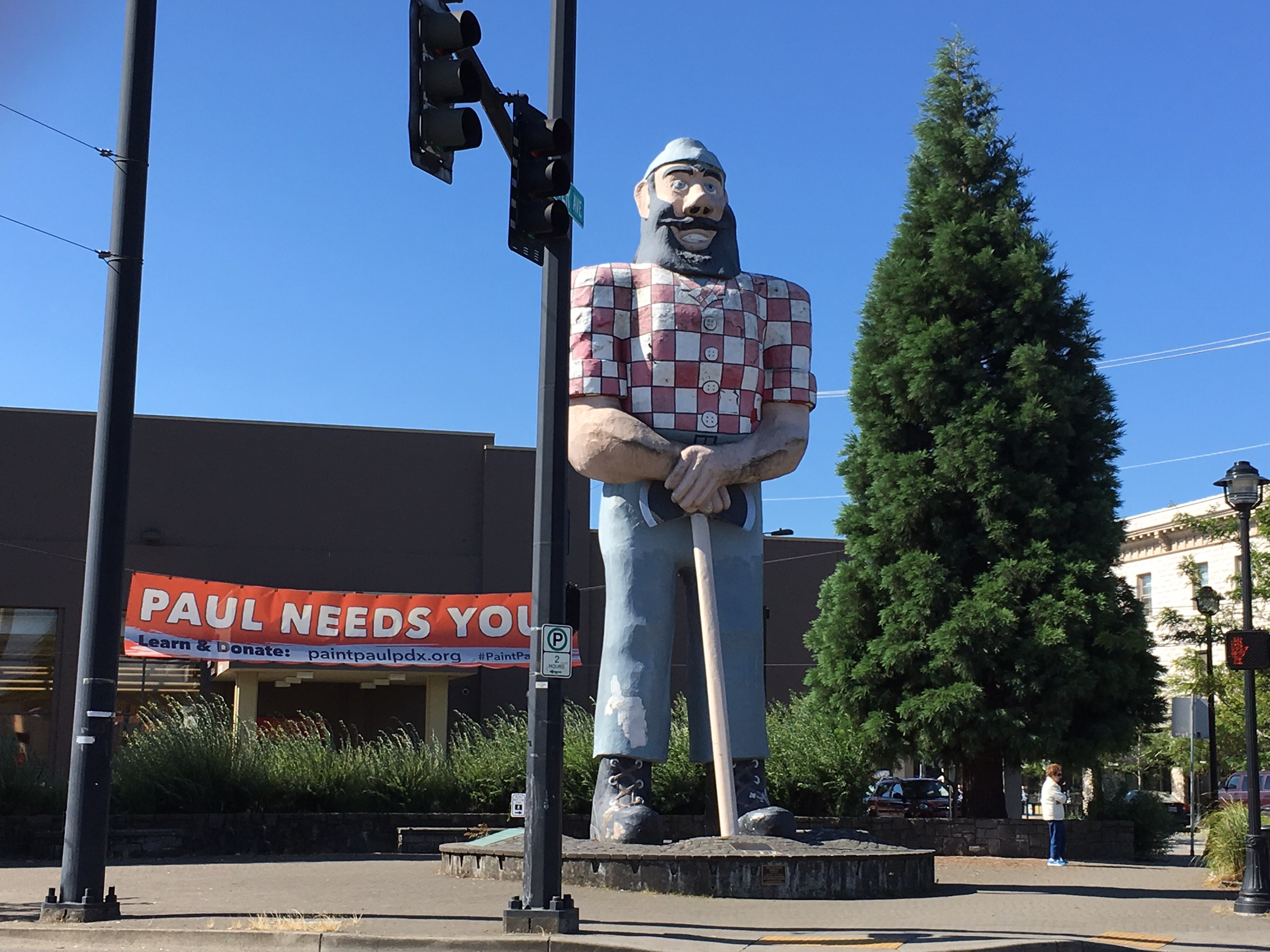 Portland Paul Bunyan Statue You Can Call Me Mochelle