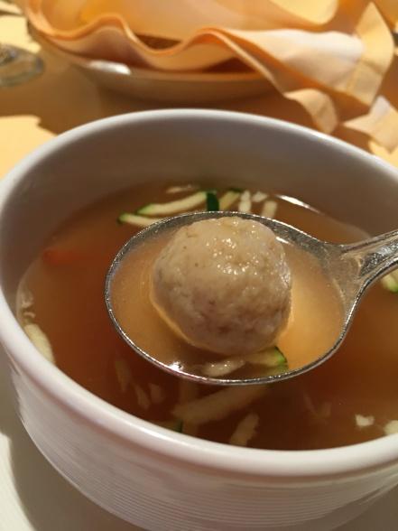 Matzo soup