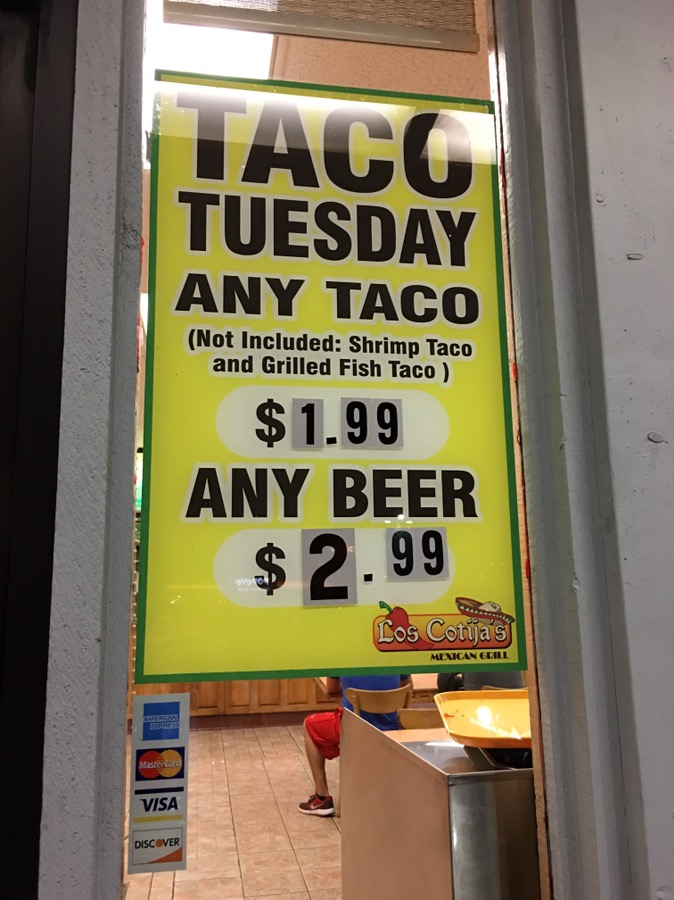 Taco Tuesday At Los Cotijas S Mexican Grill Call Me Mochelle