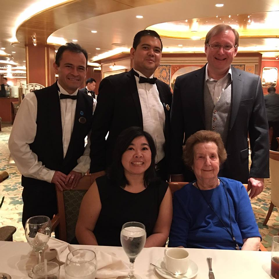Ruby Princess Night 6 Formal Dinner You Can Call Me