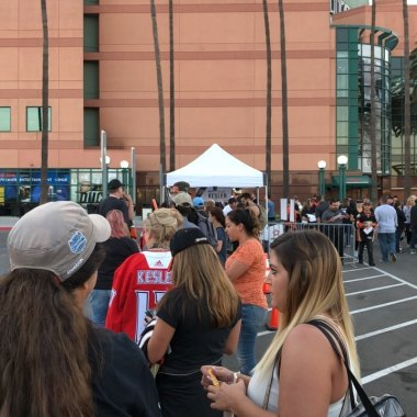 The line for Kesler