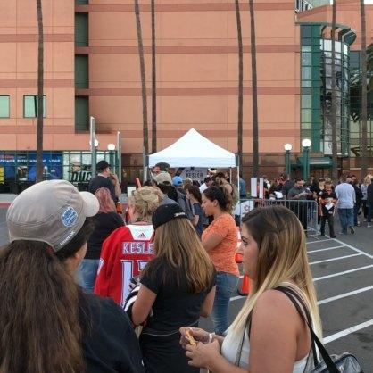 The line for Kesler