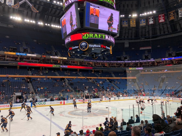 Buffalo: KeyBank Center vs Sabres | You can Call Me Mochelle