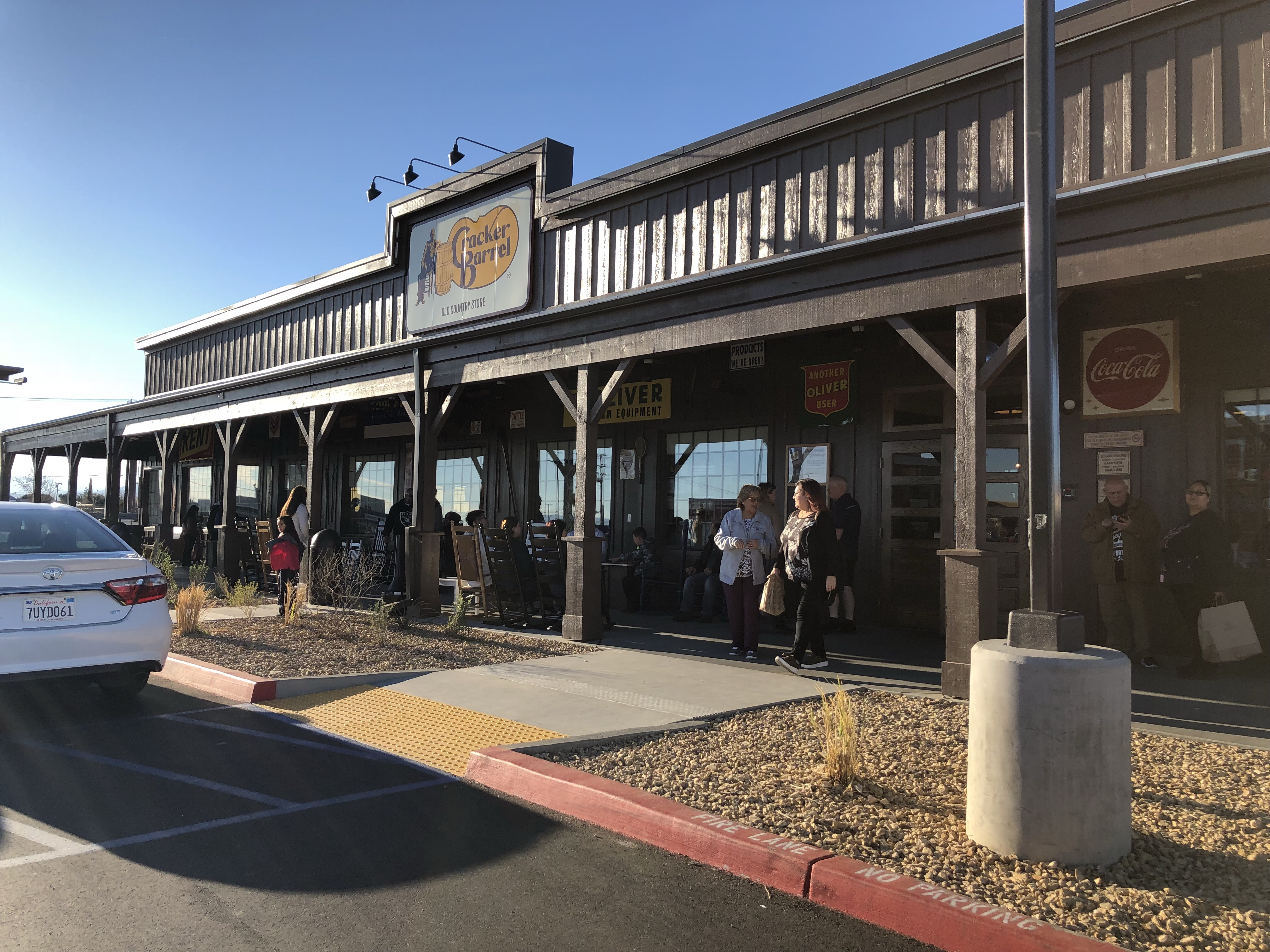 Victorville Ca Cracker Barrel You Can Call Me Mochelle