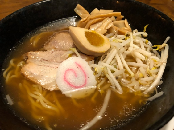 Shoyu - thick noodles